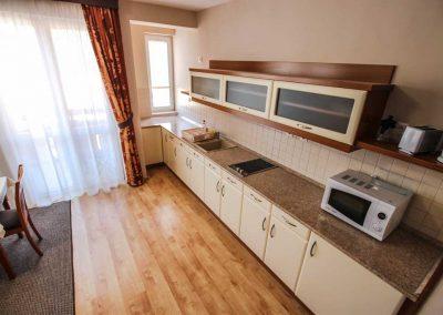 Best Apartman Hajdúszoboszló konyha