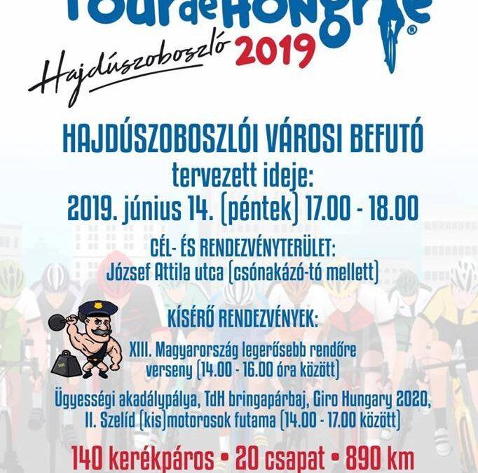 Tour de Hongrie Hajdúszoboszlón!